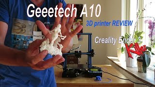 Geeetech A10 3D Printer REVIEW - Creality Ender 3 KILLER