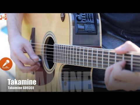 Takamine GD93CE - Elektro Akustik Gitar