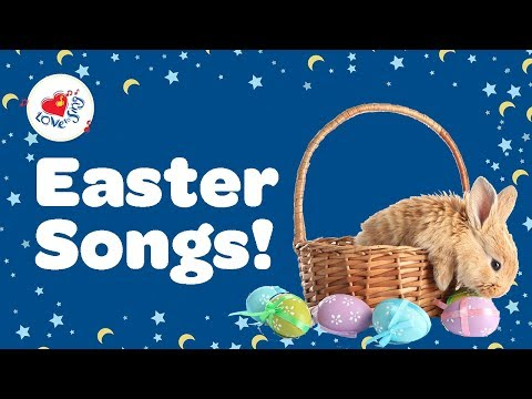Easter Songs With Lyrics For Kids | Happy Easter | Children Love to Sing