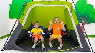 تحدي خيمة فلاد ونيكي لمدة 24 ساعة بين عشية وضحاها