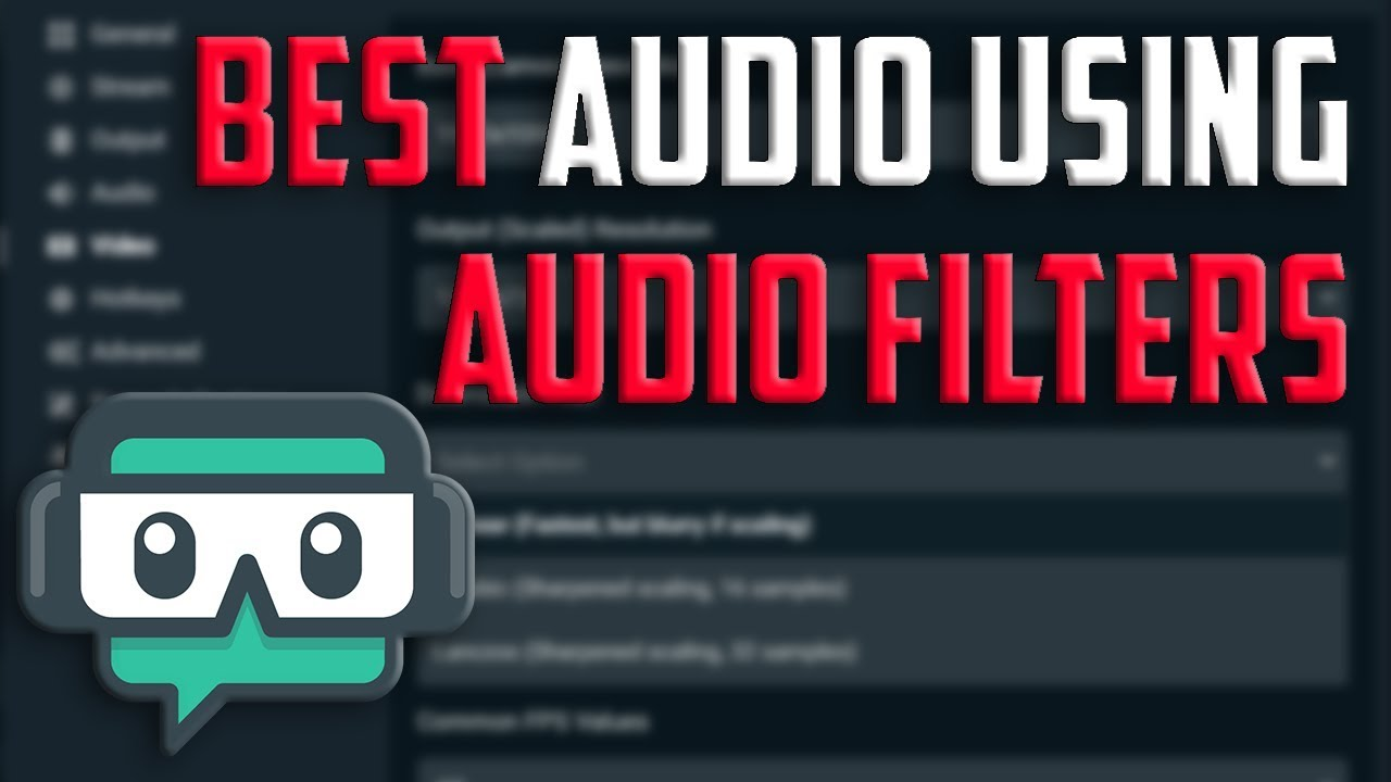 Best OBS Audio Settings (Audio Filters)
