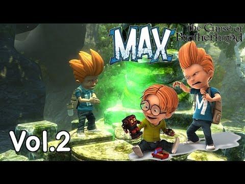 Max : The Curse Of Brotherhood #2 - พลังใหม่ในป่าลึกลับ