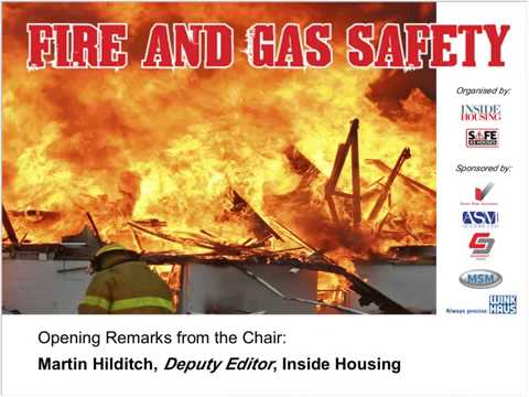 Fire and gas safety webinar