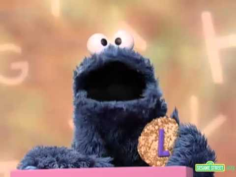 Sesame Street Cookie's Letter of the Day L