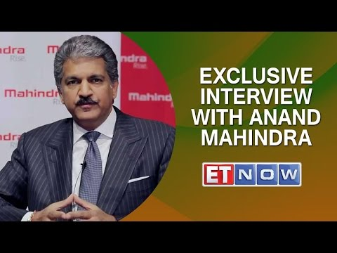 Exclusive Interview with Anand Mahindra
