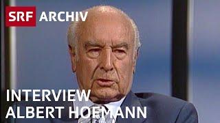Albert Hofmann im Interview (1993) | Wirkung von LSD | SRF Archiv
