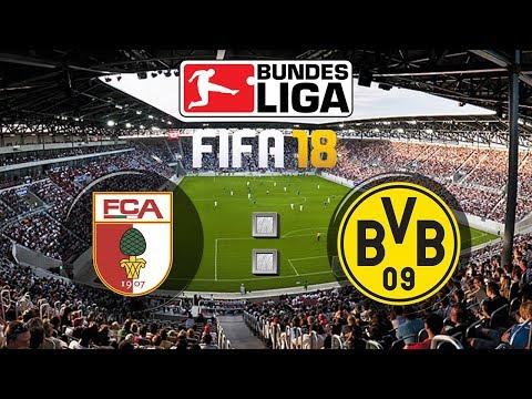 FIFA 18 Bundesliga FC Augsburg : Borussia Dortmund | Gameplay Deutsch Livestream
