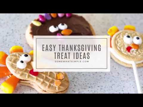 3 Easy Thanksgiving Treat Ideas