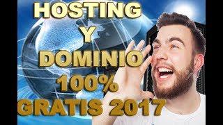 Crear Una Pagina Web Para Tu Negocio | con dominio y hosting 100% gratis 2017