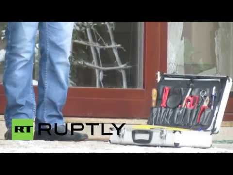 Ukraine: Mayor of Lviv's home SMASHED by vandals