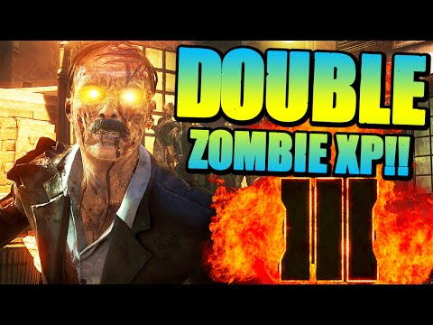 GET DOUBLE ZOMBIE XP IN BO3! - How To Unlock 2XP In Black Ops 3 Zombies (Call of Duty BO3)
