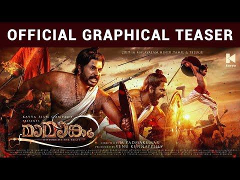 Mamangam Official Graphical Teaser | Mammootty | M Padmakumar | Kavya Film Company