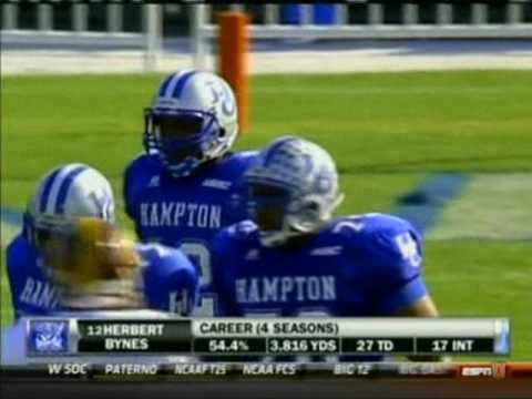 2010 Hampton University Homecoming   Bethune Cookman Wildcats @ Hampton University Pirates