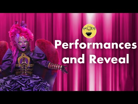 Night Angel   Performances and Reveal   Season 3   THE MASKED SINGER