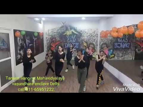 Punjabi mashup by Tansen vasundhara enclave girls