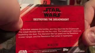 2018 Topps Star Wars The Last Jedi Series 2 Box Break Recap and Review
