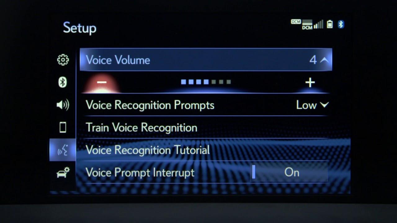 lexus enform voice commands