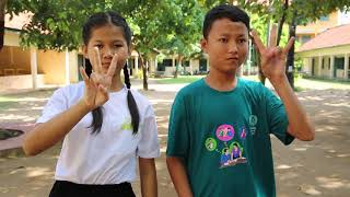 Cambodian Sign Language Alphabet Song