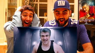Vedalam Teaser Trailer Reaction| Ajith, Shruti Hassan | First Trailer Reaction on YouTube!!!