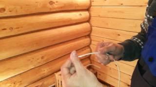 видео Обустройство бани: как создать освещение в бане