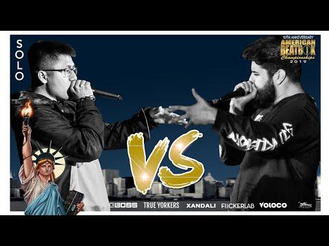 Rayul Vs Crackbone | Solo Top 16 Battle | ABCX | American Beatbox Championships 2019