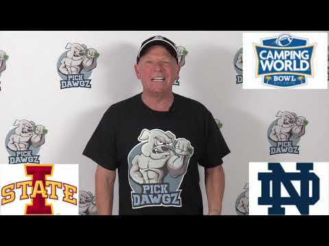 Notre Dame vs Iowa State 12/28/19 Free College Football Pick and Prediction: Camping World Bowl