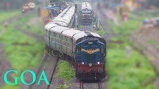 Departures from Diesel Heaven, Goa - Indian Railways
