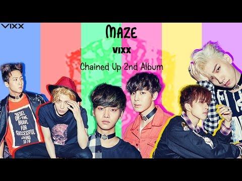 VIXX (빅스) - MAZE (Colour Coded) [Han Rom Eng Lyrics]