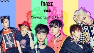 VIXX (??) - MAZE (Colour Coded) [Han|Rom|Eng Lyrics] MP3
