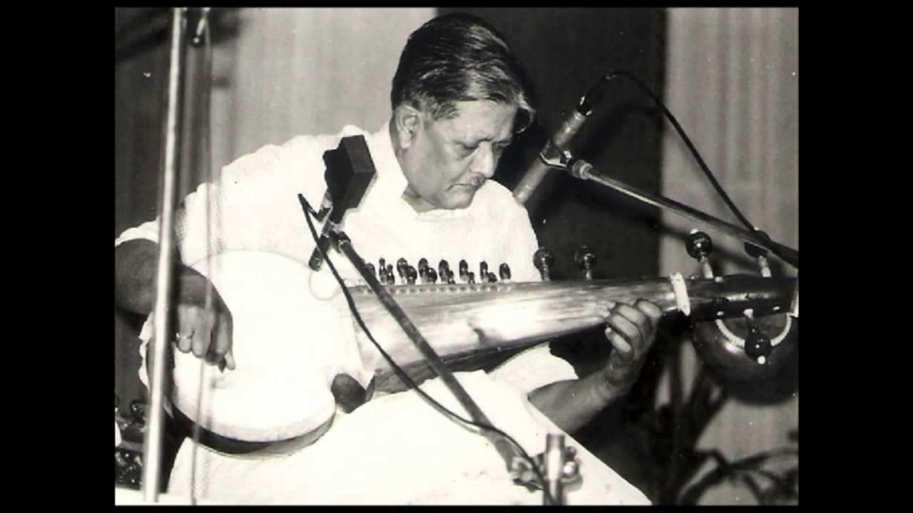 Pt. Buddhadeb Dasgupta Raag Megh (1956)