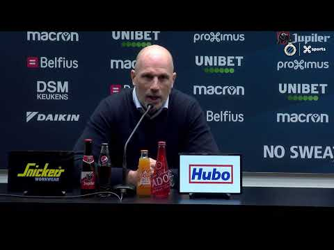 #CLUSTA   Philippe Clement blikt terug op de match Club Brugge - Standard   2019-2020