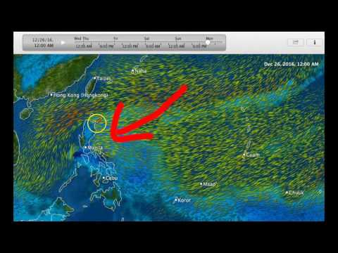 """Developing """"grinch"""" storm near the Philippines, Tropical Upd"""