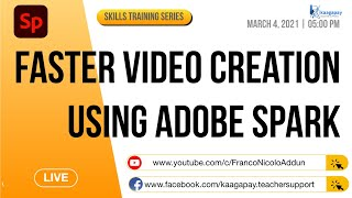 Adobe Spark Video for Faster Video Creation