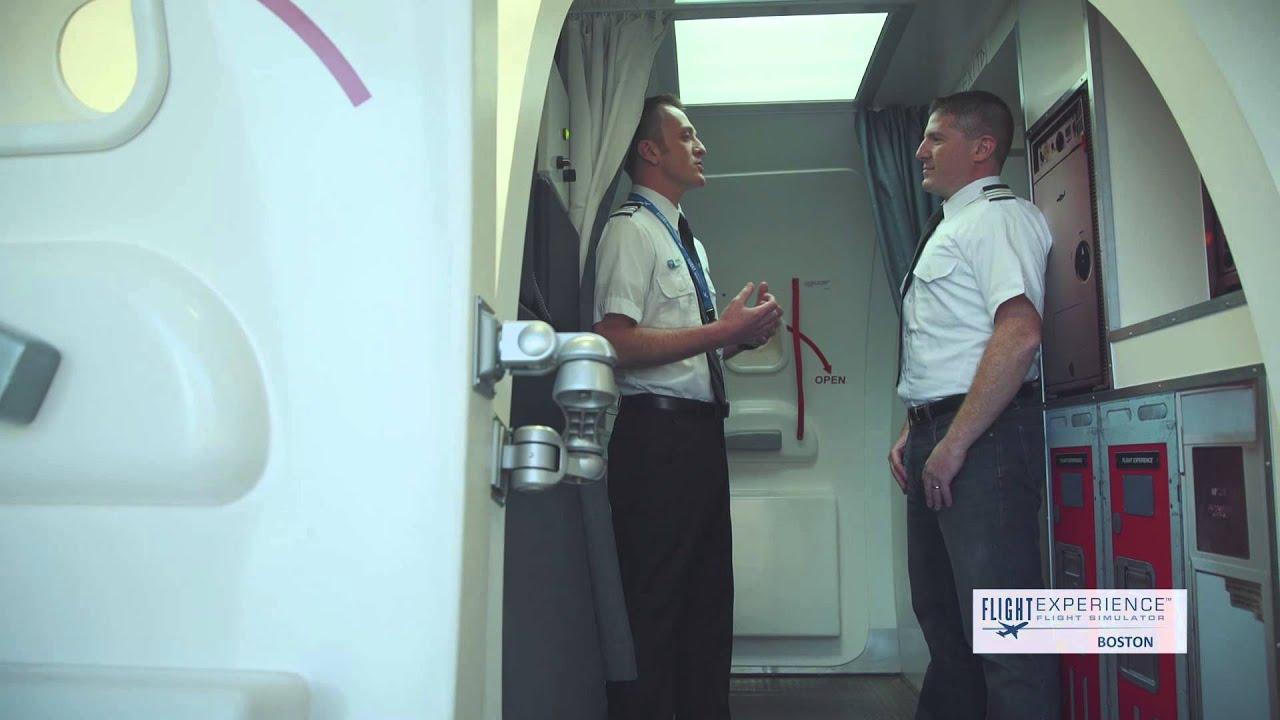 flight experience boston promo