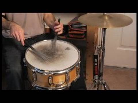 how to play drums with brushes how to play a snare with brushes youtube. Black Bedroom Furniture Sets. Home Design Ideas