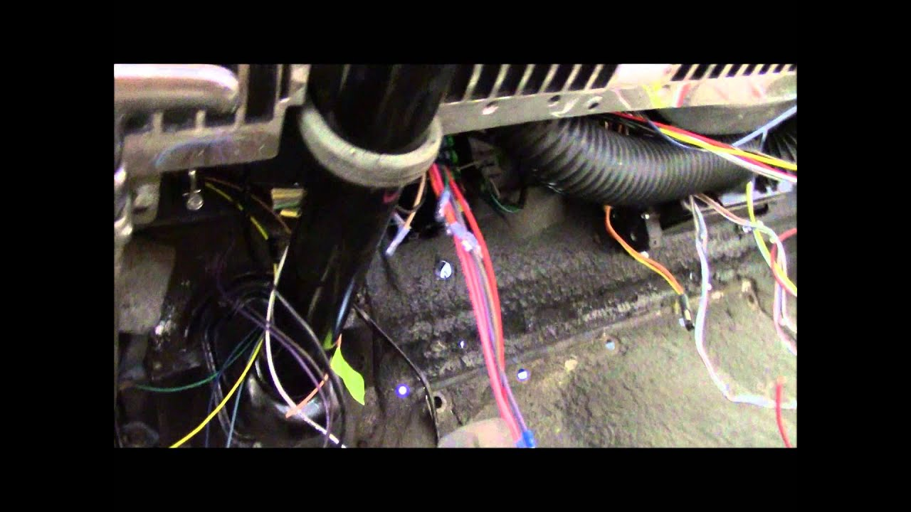 1950 Monarch wiring - YouTube