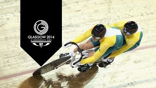Track Cycling: Men's Sprint Tandem - Day 3 Highlights Part 6 | Glasgow 2014
