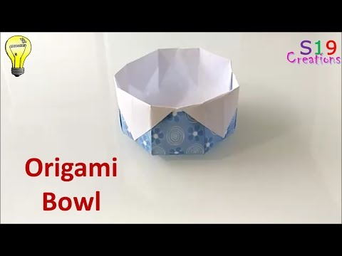 how to make a paper bowl   paper crafts   origami   easy kids craft ideas   best craft idea