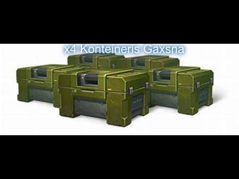 Tanki Online Video 4 კონტენერის გახსნა
