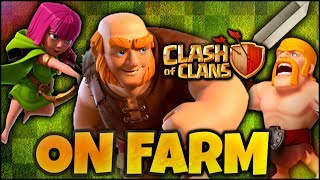 LIVE ON FARM L'HDV 11 ! ( Clash Of Clans FR )