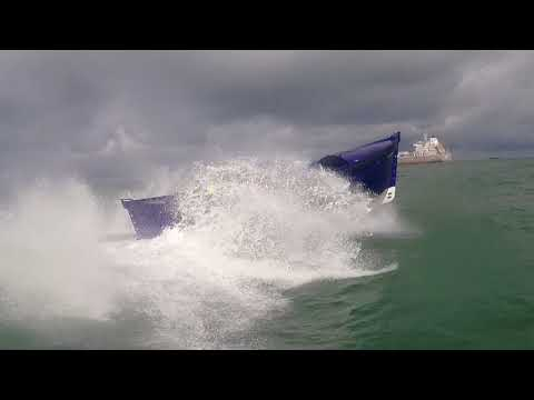 Waterdream Vlissingen-London world record in a Sloep