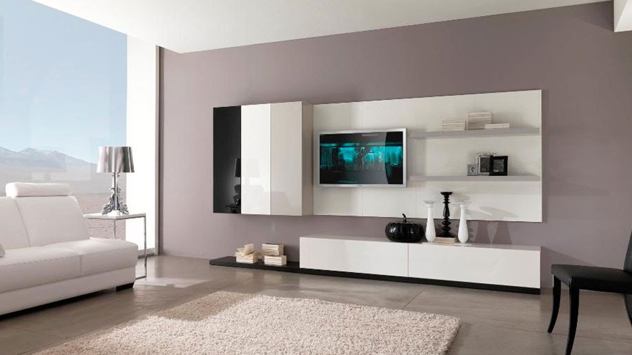 Best Top  Modern Tv Cabinet Wall Units Furniture Designs Ideas - Cabinet design for living room