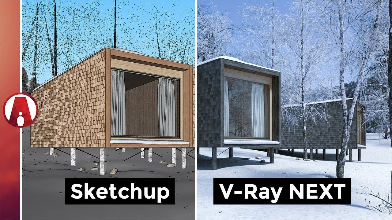 V-Ray Next for SketchUp New Features - YouTube