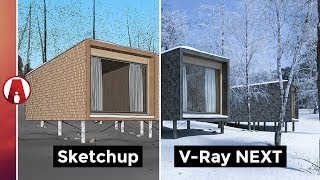 V Ray Next For Sketchup New Features