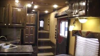 2016 Featherlite 17.5' SW Living Quarters Horse Trailer- INCREDIBLE CUSTOM MUST SEE INTERIOR