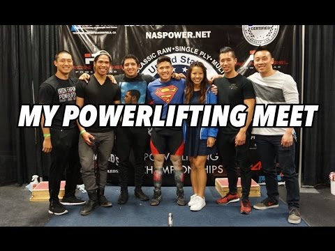 My Powerlifting Meet! USPA Drug Tested CA State Championships
