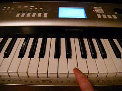 benny hill piano tutorial