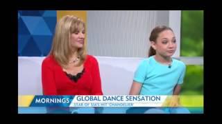 Maddie Ziegler in Australia | Morning Show Interview