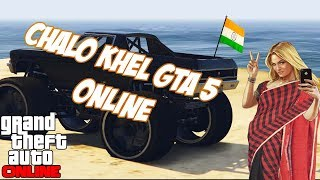INDIANS PLAY GTA 5 (PC) ONLINE  FUNNY MOMENTS   Road to 1000 SUBS!!!
