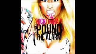 Nicki Minaj - Pound The Alarm Karaoke / Instrumental with lyrics